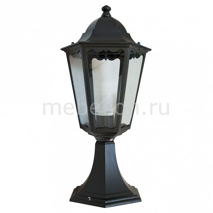 Наземный низкий светильник Feron 6204 11070 садово парковый светильник шестигранный на постамент 100w e27 230v черный feron 6204 11070