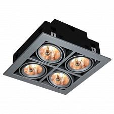 Встраиваемый светильник Cardani A5930PL-4SI