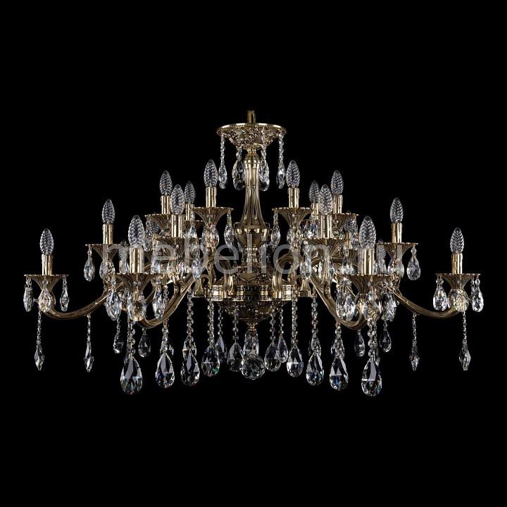 Подвесная люстра Bohemia Ivele Crystal 1709/21/410/A/GB 1709
