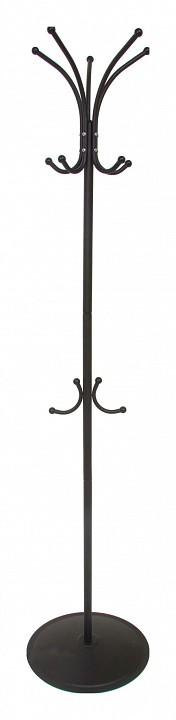 Вешалка напольная Мебелик Вешалка-стойка Пико 4 черный вешалка для одежды tatkraft karta напольная цвет белый черный высота 173 см