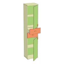 Шкаф комбинированный Фруттис 503.070 желтый/лайм/манго