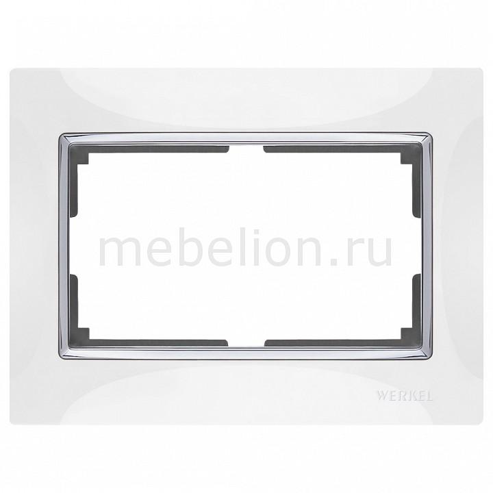 Рамка для двойной розетки Werkel Snabb WL03-Frame-01-DBL-white цены