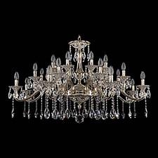 Подвесная люстра Bohemia Ivele Crystal 1709/24/410/A/GW 1709