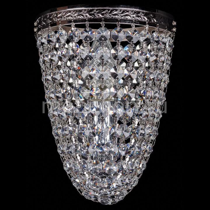 Накладной светильник Bohemia Ivele Crystal 1925/1/S/Ni 1925