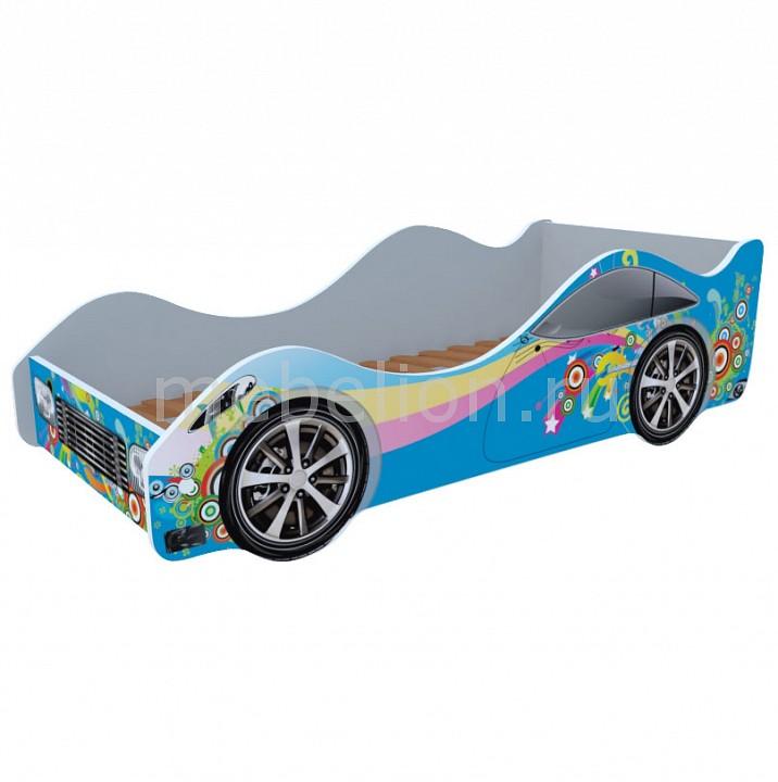 Купить Кровать-Машина Радуга M056