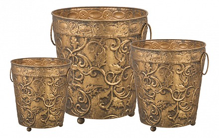 Набор из 3 ваз настольных 223-039