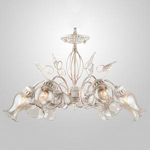 Подвесная люстра Афелия 60021/6 белый с золотом