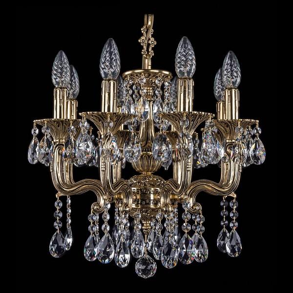 Подвесная люстра 1704/8/UP125IV/A/GB Bohemia Ivele Crystal 1704/8/110/A/GB  (BI_1704_8_110_A_GB), Чехия