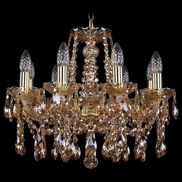 Подвесная люстра 1413/8/165/G/M721 Bohemia Ivele Crystal  (BI_1413_8_165_G_M721), Чехия
