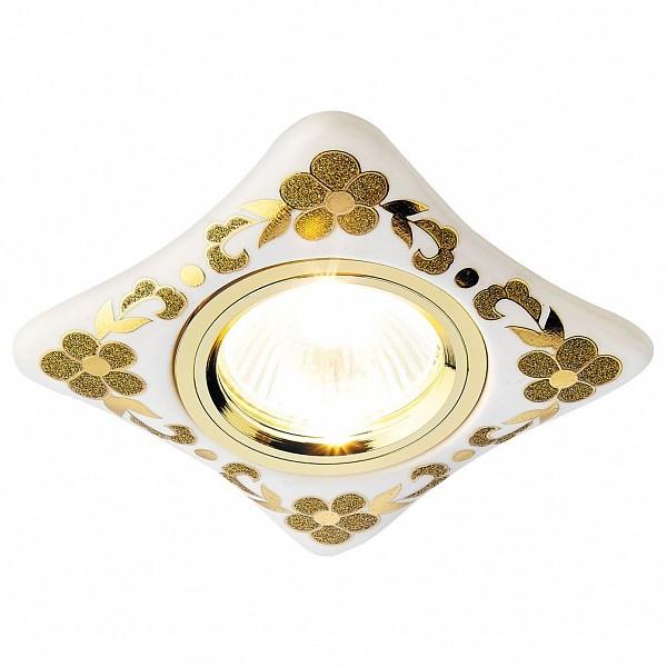 Встраиваемый светильник Dising D2065 W/GD Ambrella AMBR_D2065_W_GD