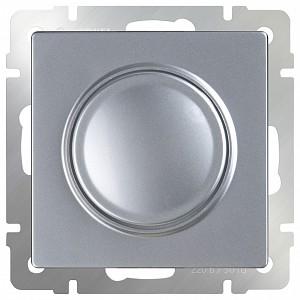 Диммер без рамки Серебряный WL06-DM600