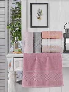 Набор из 6 банных полотенец Elmas