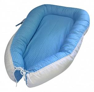Подушка для новорожденных (30х60 см) Горошек