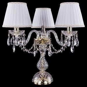 Настольная лампа декоративная 1406L/3/141-39/G/SH2A-160