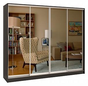 Зеркальный шкаф-купе Стандарт Зеркало 4 BRN_1107