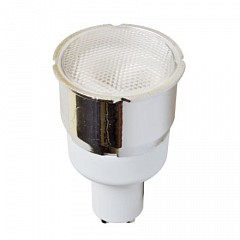 Лампа компактная люминесцентная GU10 7Вт 2700K 73454