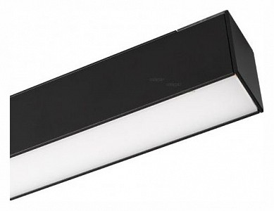 Встраиваемый светильник MAG-FLAT-45-L605-18W Warm3000 (BK, 100 deg, 24V) 026954