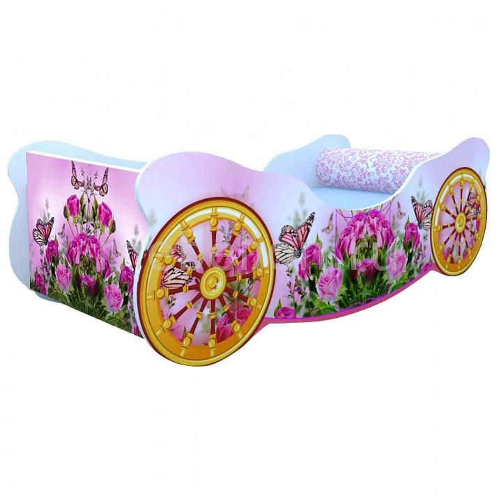 Кровать Розы с бабочкой K009
