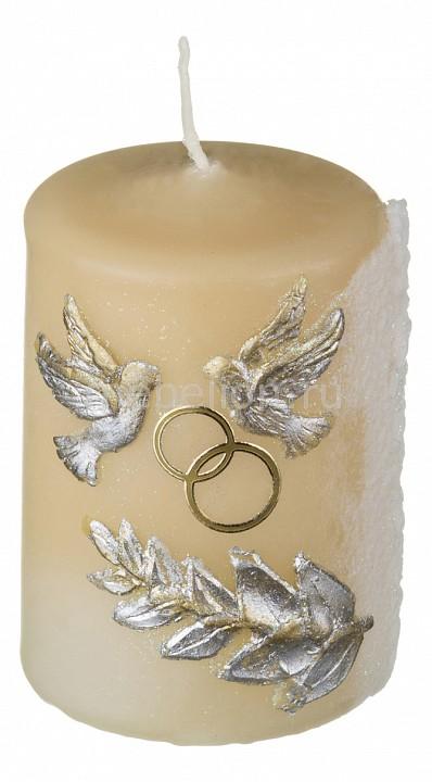 Свеча декоративная АРТИ-М (6x8 см) Свадебная 348-025 свадебная композиция как в сказке