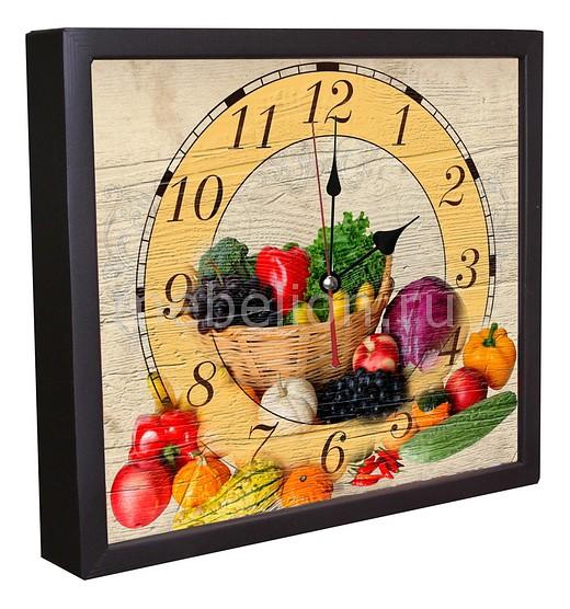 Настенные часы Акита (34х30 см) Овощи 3034-8 цена 2017