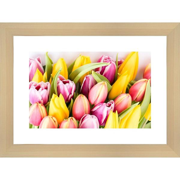 Картина (40х30 см) Букет тюльпанов BE-103-185 фото