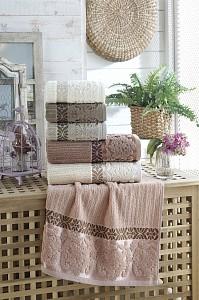 Набор из 6 банных полотенец Guzide
