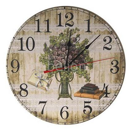 Настенные часы Акита (30 см) Букет C1188 цена и фото