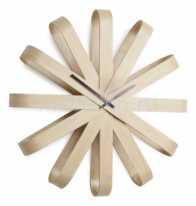 Настенные часы Umbra (51.2 см) Ribbon 118071-390 цена