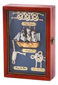 Ключница (17х25 см) Парусник 271-006