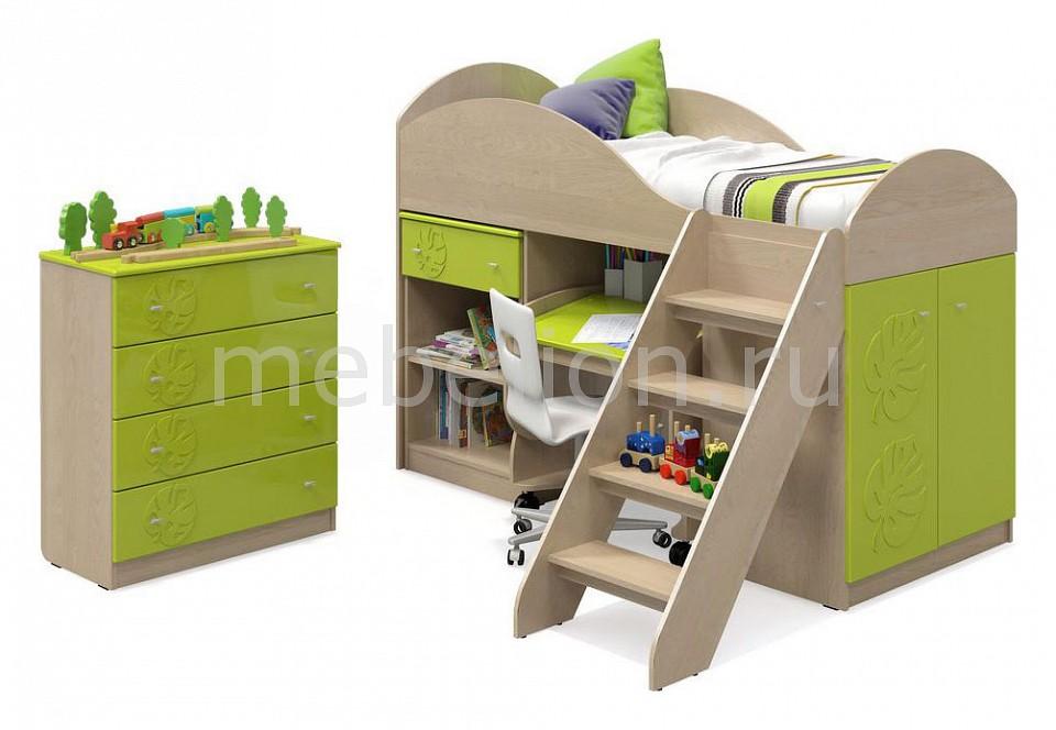 Комод детский Компасс-мебель KOM_Maugli_system_2 от Mebelion.ru