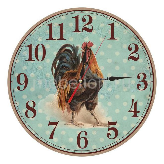 Настенные часы Акита (30 см) Петух C56 цена и фото