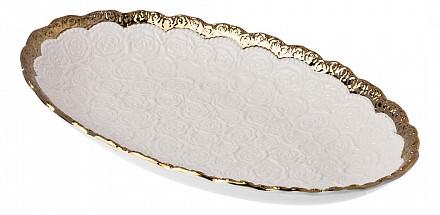 Чаша декоративная (40x25x5.5 см) ART 793-090