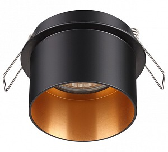 Встраиваемый светильник черного цвета Butt NV_370431