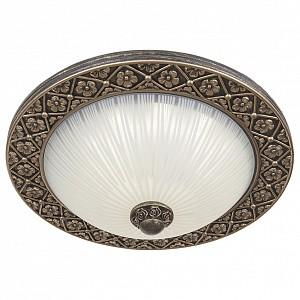 Светодиодный потолочный светильник 15 вт Marziya ID_264_40PF-LEDOldbronze