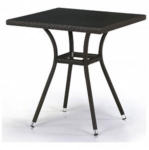 Стол обеденный T282BNS-W53-70x70 Brown