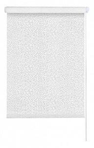 Штора рулонная Мозаика 80.5x175 см., цвет белый