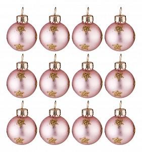 Набор из 12 елочных шаров (6 см) Для маленькой елочки 862-258