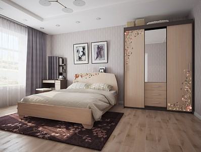 Гарнитур для спальни Виктория-2