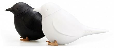 Набор для специй Sparrow QL10232-WH-BK