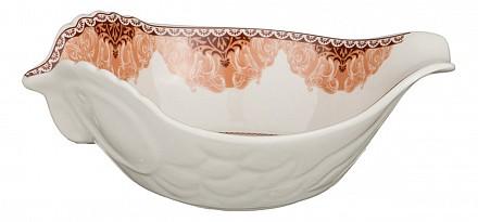 Чаша декоративная (16х11х6 см) Петух 388-481