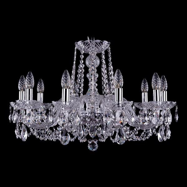 Подвесная люстра 1402/10/240/Ni Bohemia Ivele Crystal  (BI_1402_10_240_Ni), Чехия
