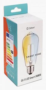 Лампа светодиодная E27 100-240В 6Вт 2200-6500K ZTSHLBWCWE272RU
