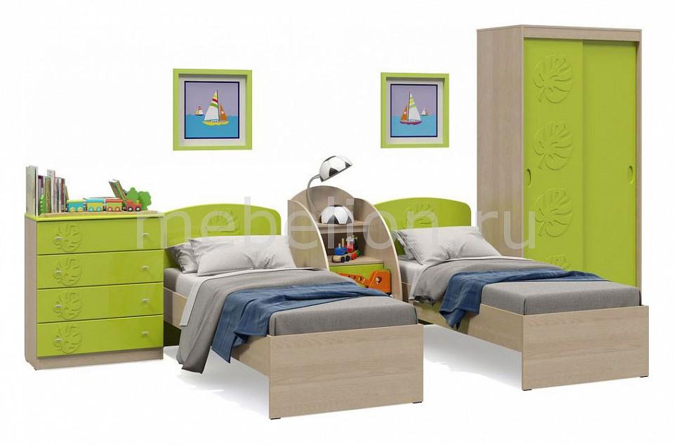 Комод детский Компасс-мебель KOM_Maugli_system_5 от Mebelion.ru