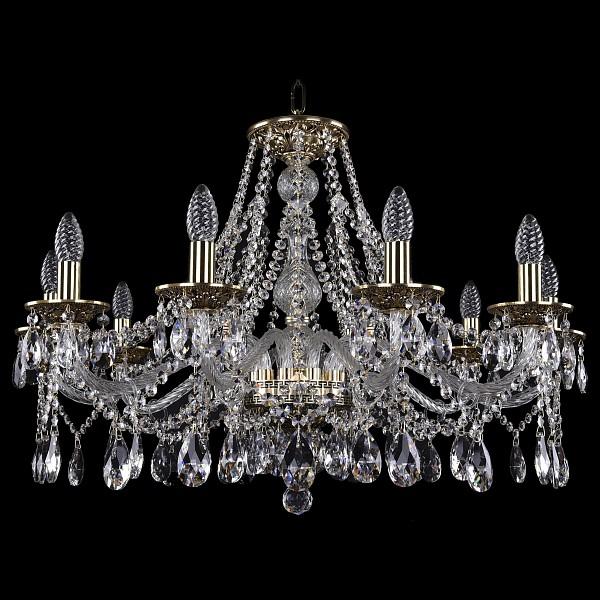 Подвесная люстра 1613/10/300/GB Bohemia Ivele Crystal  (BI_1613_10_300_GB), Чехия