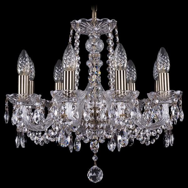 Подвесная люстра 1402/8/160/Pa Bohemia Ivele Crystal  (BI_1402_8_160_Pa), Чехия