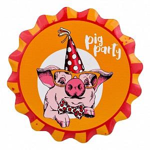 Подставка под горячее (11 см) Pig party 229-347