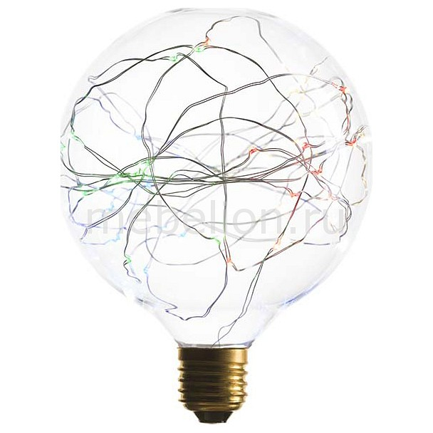 Лампа светодиодная G125 E27 1.5Вт 240В 2200K 057-059