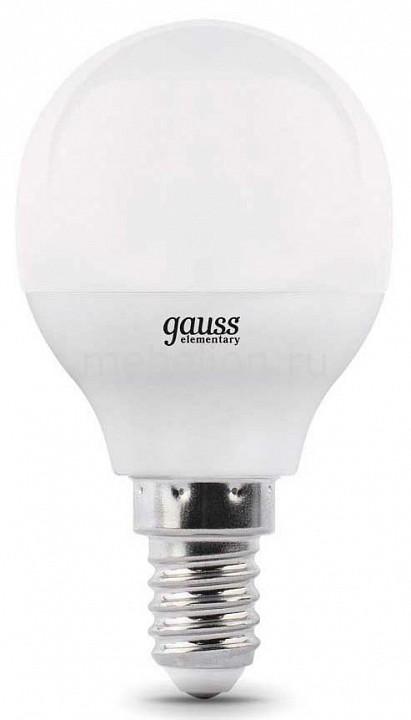 Купить Лампа светодиодная E14 7Вт 150-265В 3000K 105101107-D, Gauss, Китай