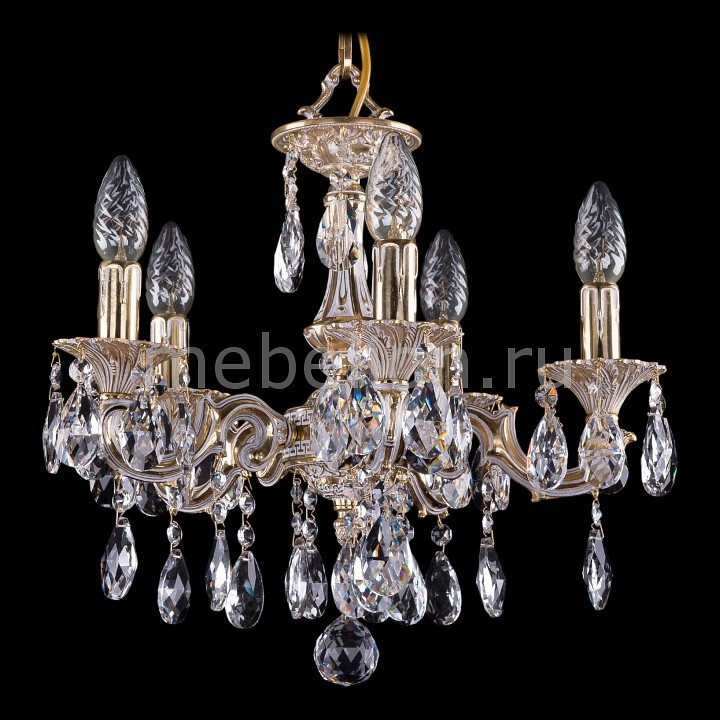 Купить Подвесная люстра 1702/5/CK125IV/A/GW, Bohemia Ivele Crystal