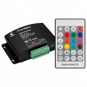 Контроллер-регулятор цвета RGBW с пультом ДУ VT-S14-4x4A (12-24V, ПДУ Карта 24кн, RF)